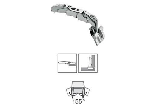 BLUM 155º scharnier zonder veer inserta opliggend