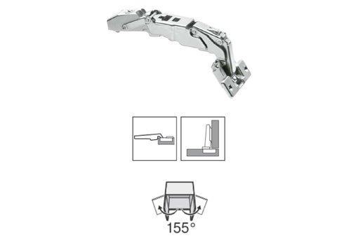BLUM 155º scharnier zonder veer schroeftop opliggend
