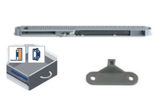 Dempersysteem Slidix voor ladegeleiders op rol en kogelgelagerd