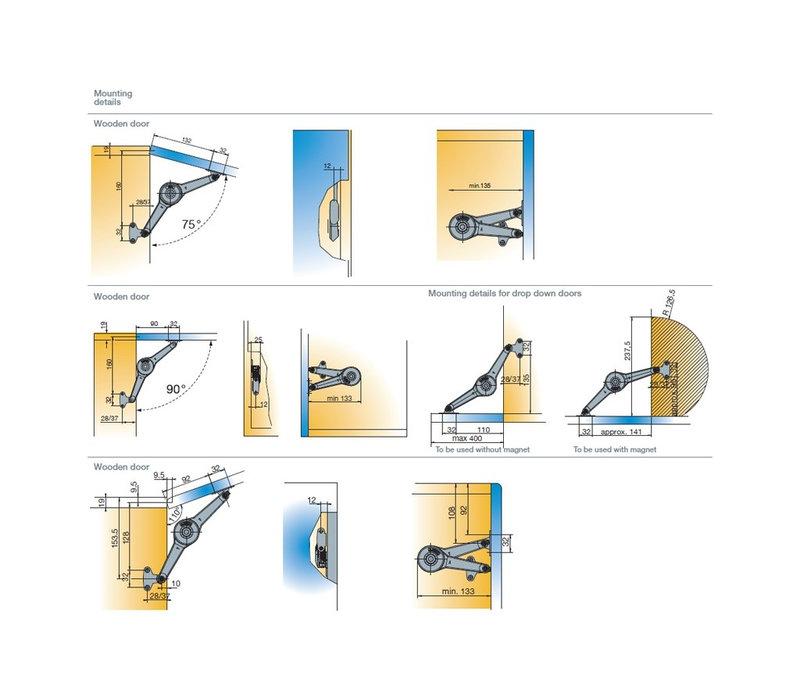 Bovenklepschaar Duo Lift