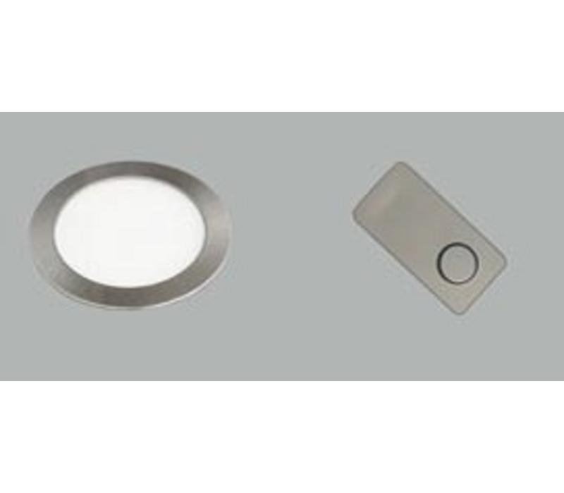 Smally XS Plus Inbouwspot (in/uitschakelen en dimmen met Mini Pulsdimmer