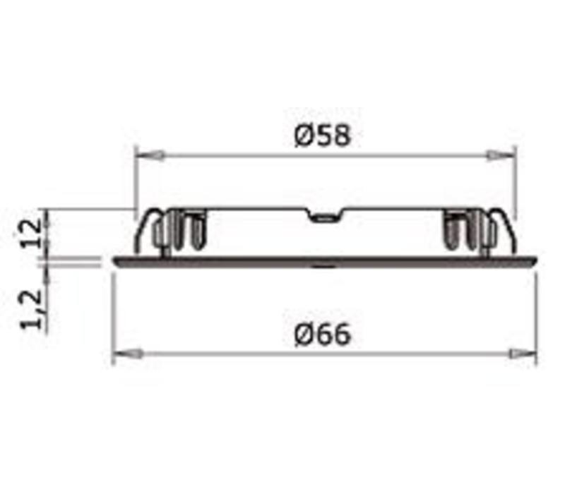 Smally XS Plus In/uitschakelen met geschakeld stopcontact(niet dimbaar)