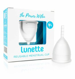 Lunette Cup Clear size 1