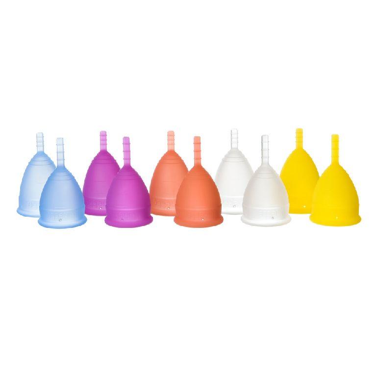 Lunette Cup size 1 - menstruatiecup Colors