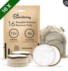 Bamboozy Wattenschijfjes 16 stuks - Wit