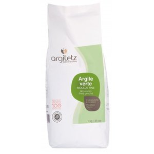 Argiletz GROENE KLEI SUPERFIJNE [GROEN], 1 kg
