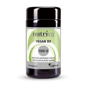 Nutriva Nutriva Vegan  D3  kauwtabletten 60st