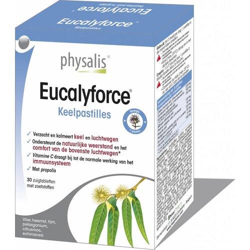 Physalis Eucylaforce keelpastilles 30st
