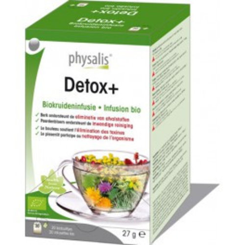 Physalis Detox + infusie 20st
