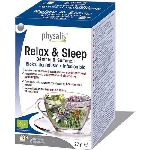 Physalis Relax & Sleep infusie 20st