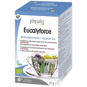 Physalis Eucalyforce infusie 20st