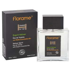 Florame Eau de Toilette Vetiver Spirit 100ml BIO