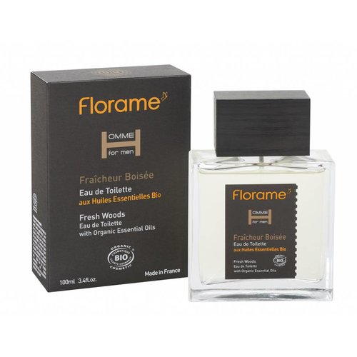 Florame Eau de Toilette Fresh Woods 100ml BIO