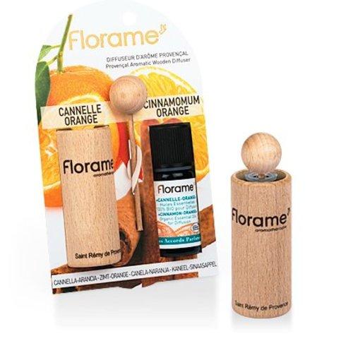 Florame verstuiver + Cinn-orange E.O. BIO 1 stuks