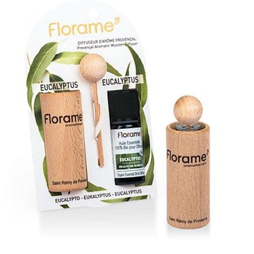 Florame Florame verstuiver + Eucalyptus E.O. BIO 1 stuks