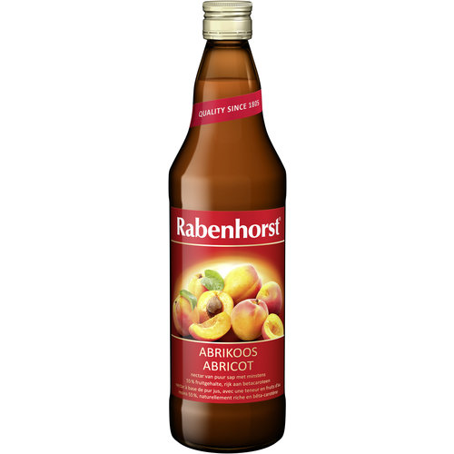 Rabenhorst Rabenhorst Abrikozensap 750 ml