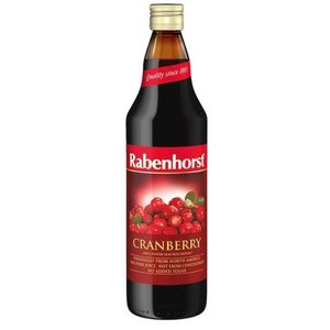 Rabenhorst Cranberrysap puur 750 ml
