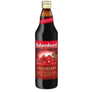 Rabenhorst Rabenhorst Cranberrysap puur 750 ml