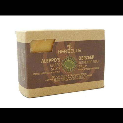 Herbelle Herbelle Aleppozeep met 40% laurierolie ECOCERT 180-200gr