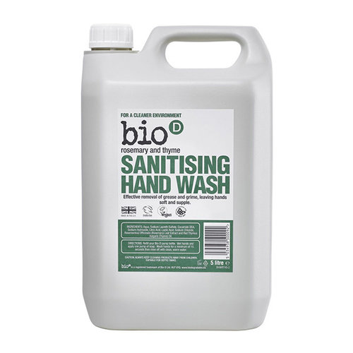 Bio D Bio D rosemary and thyme sanitising hand wash 5L