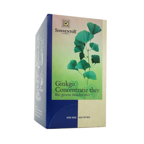 Sonnentor Ginkgo concentratie thee 20st