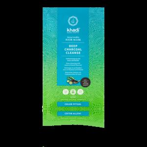 Khadi Khadi Ayurvedic Hair mask Deep Charcoal Cleanse Detox 1st