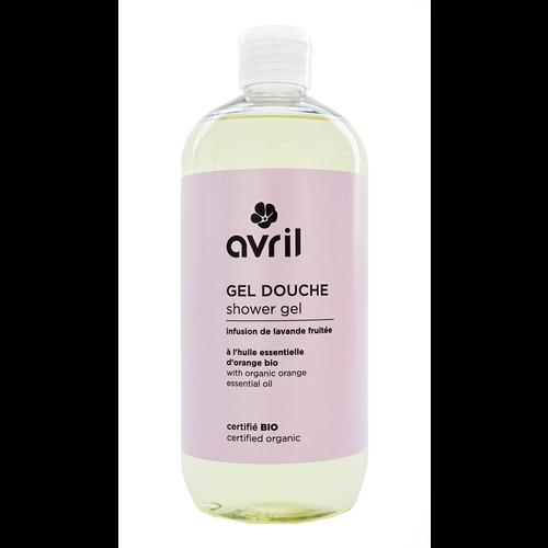 Avril Avril Douchegel Fruitige Lavendel bio 500 ml