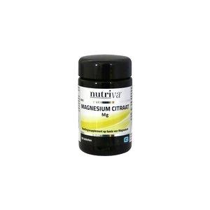 Nutriva Nutriva Magnesium Citraat 50tb