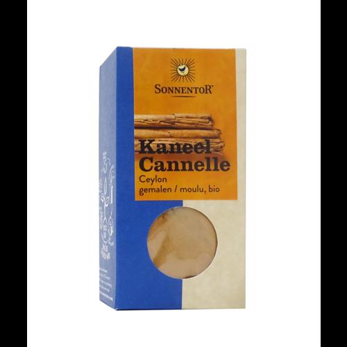 Sonnentor Sonnentor Kaneel Ceylon Gemalen bio 40 g.  NL Verpakking