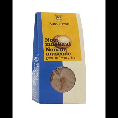 Sonnentor Nootmuskaat gemalen bio 30 g.  NL Verpakking
