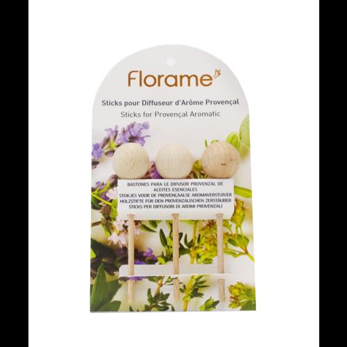 Florame Houten verstuiver sticks 3st