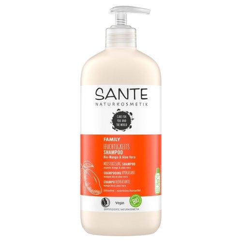 Sante Family moisturizing shampoo organic mango & aloe vera 500ml