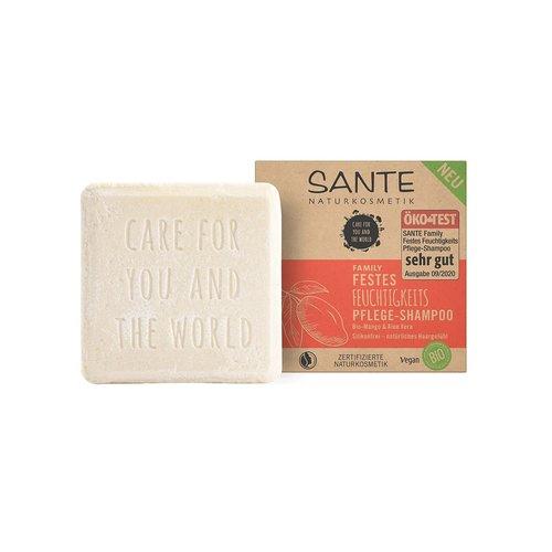 Sante Family moisturizing solid care-shampoo organic mango & aloe vera 60g