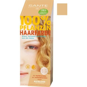 Sante Natural plant hair colour - strawberry blonde