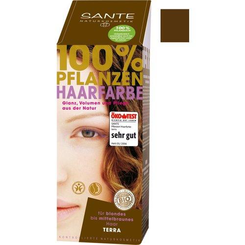 Sante Natural plant hair colour - terra