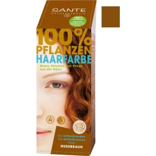 Sante Natural plant hair colour - nut brown
