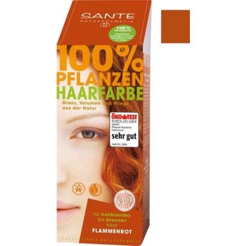 Sante Natural plant hair colour - flame red