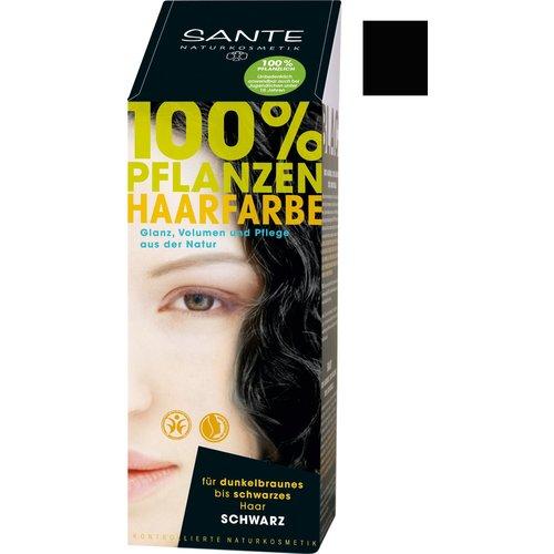 Sante Natural plant hair colour - black