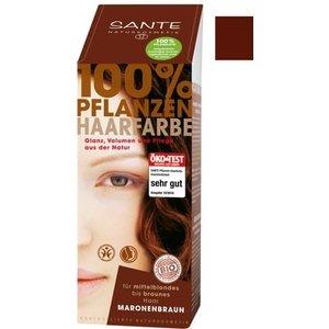Sante Natural plant hair colour - chestnut brown