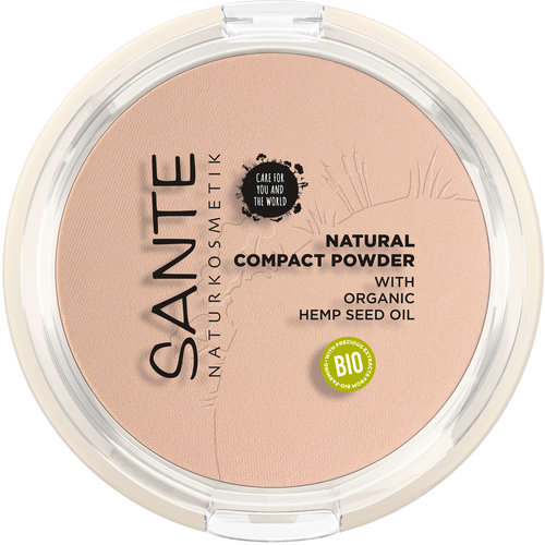 Sante compact powder 01 cool ivory 9gr