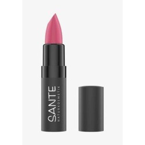 Sante Matte lipstick bright papaya
