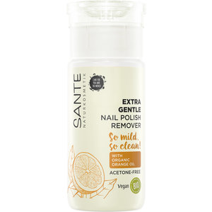 Sante Extra gentle nail polish remover