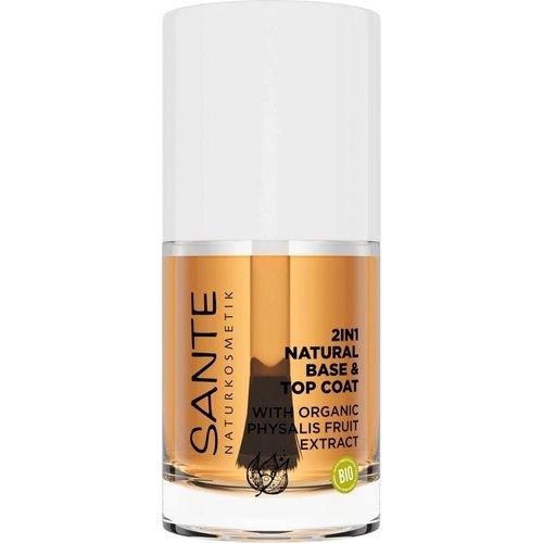 Sante 2in1 natural base & top coat