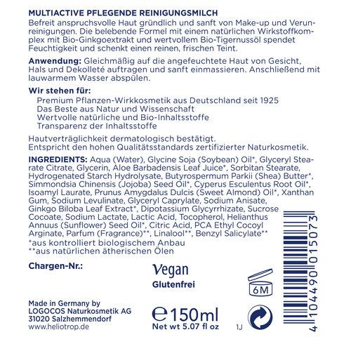 HELIOTROP Multiactive reinigingsmelk 150ml
