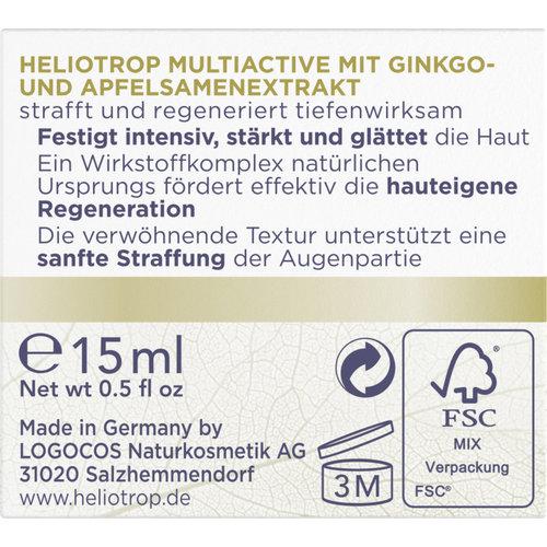 HELIOTROP Multiactive ogencreme 15ml
