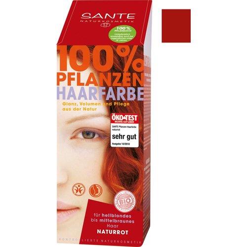 Sante Natural plant hair colour - natural red