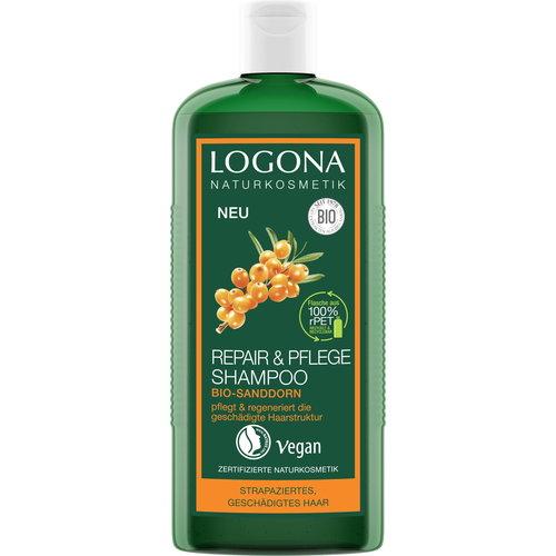 Logona Repair & care shampoo organic sea buckthorn 250ml