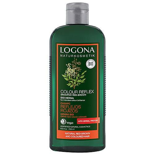 Logona Colour reflex shampoo red brown organic henna 250ml