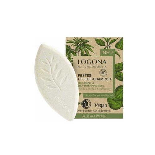 Logona Solid care shampoo organic-hemp & organic-nettle 60g