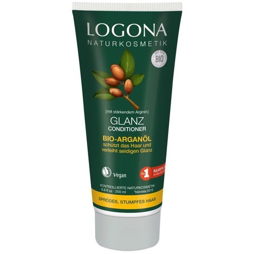 Logona Shine conditioner organic argan oil 200ml